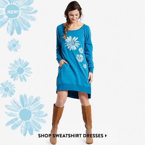 Shop Women's Sweatshirt Dresses