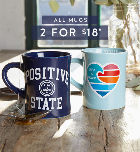 Get 2 Mugs for $18