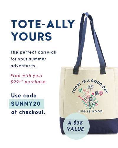 Get a free tote bag with a $99+ purchase