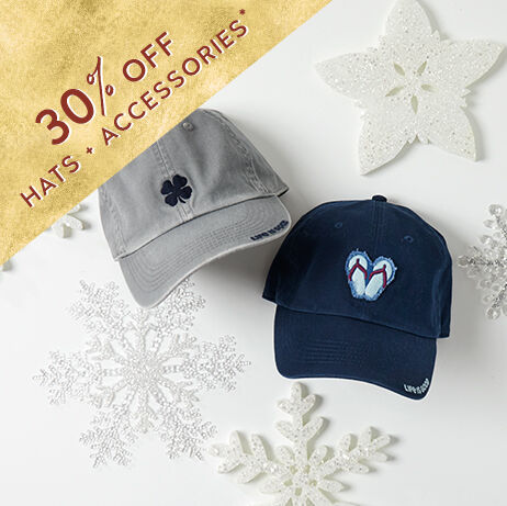 30% off hats and accessories