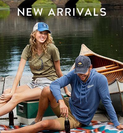 Shop men's and women's new arrivals