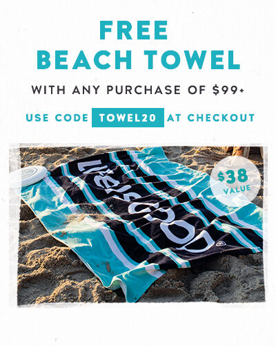 Get a Free Beach Towel with a $99 Purchase