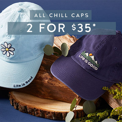 Chill Caps 2 for $35