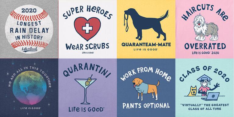 Shop the Quarantine Collection