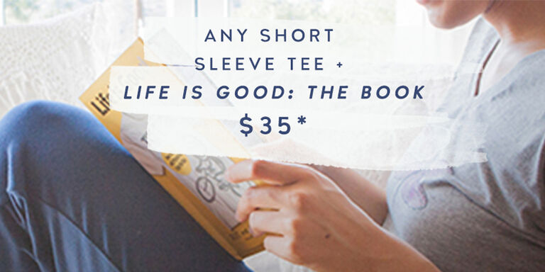 Any Short Sleeve Tee and the Book for $35