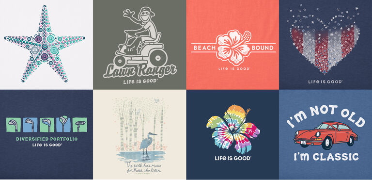 Shop our all new Tees