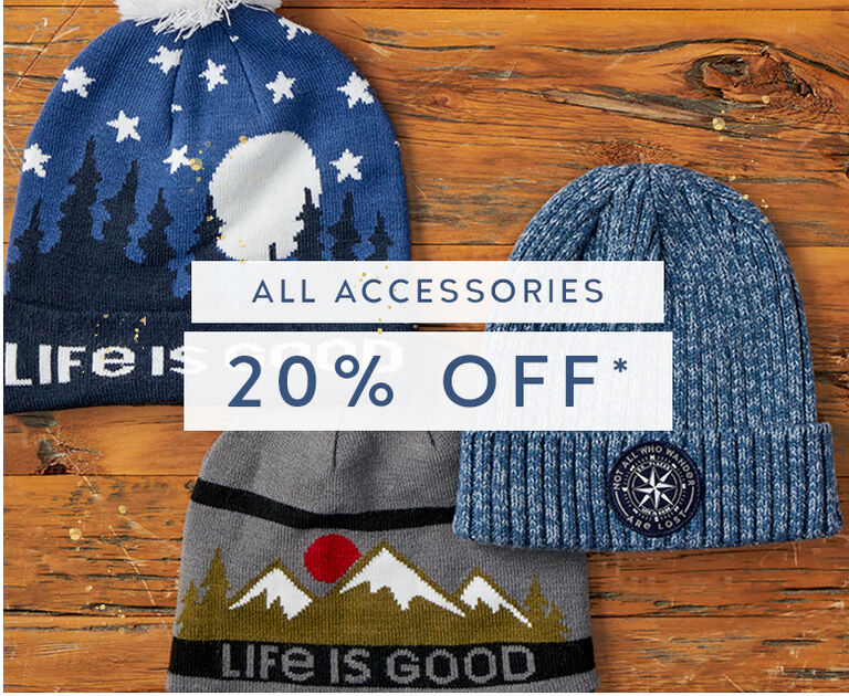 Shop Accessories and get 20% Off