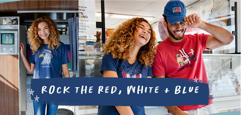 Shop the 4th of July Collection