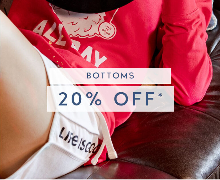 Get 20% Off All Bottoms