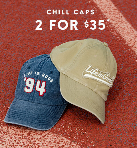Chill Caps - 2 for $35