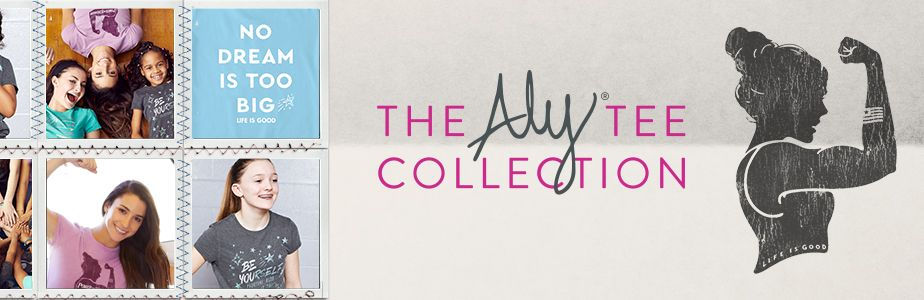 Introducing the Aly Tee Collection