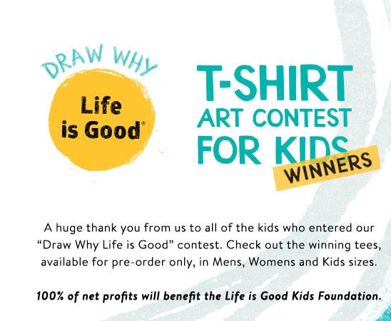 T-shirt Art Contest for Kids