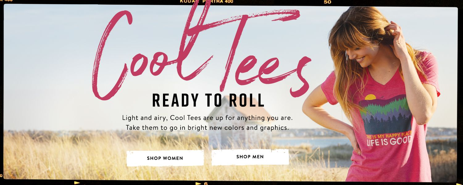 Shop our all New Cool Tees