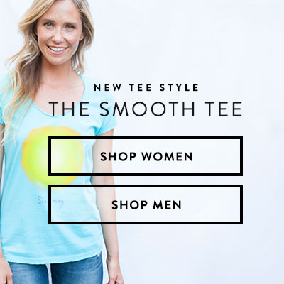 New Tee Style - The Smooth Tee. The Smooth Tee is crafted to be extra soft for a just-right, lighter-weight wearability.