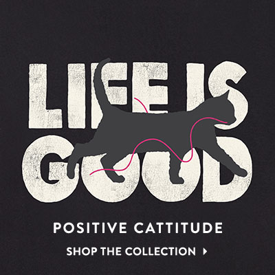 Positive Cattitude - Shop the Cat Collection