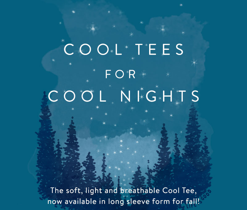Shop Long Sleeve Cool Tees