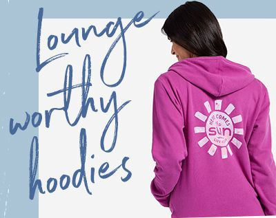 Lounge Worthy Hoodies