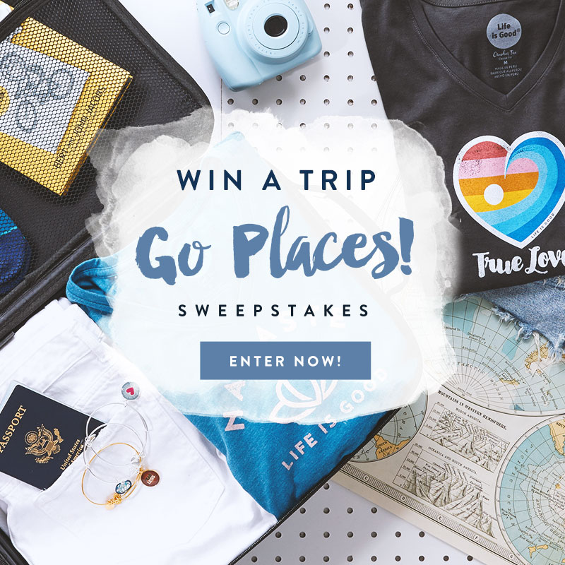 Go Places! Win A Trip to Anywhere