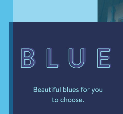 Blue - Beautiful blue for you to choose. - Shop Women's