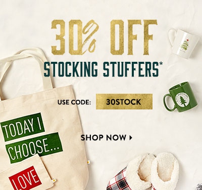 30% Off All Stocking Stuffers