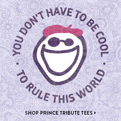 You Don't Have to be Cool, To Rule My World - Shop Prince Tribute Tees