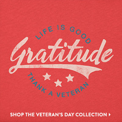 Thank a Veteran - Shop the Veterans Day Collection