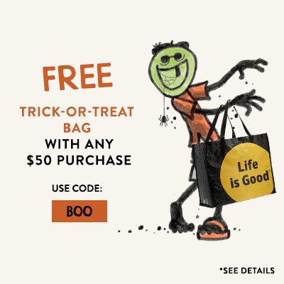 Free Trick-or-Treat Bag with any $50 Purchase