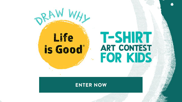 Draw Why Life is Good - Enter the Kid Art Contest