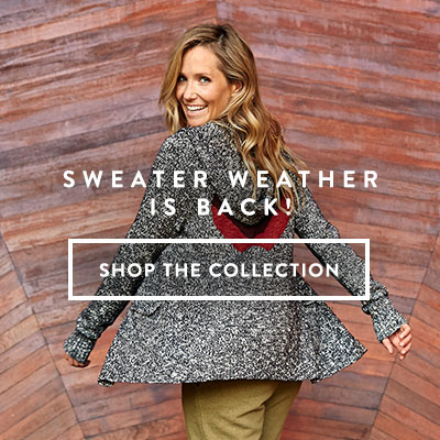 Sweater Weather is Back! - Shop the Collection